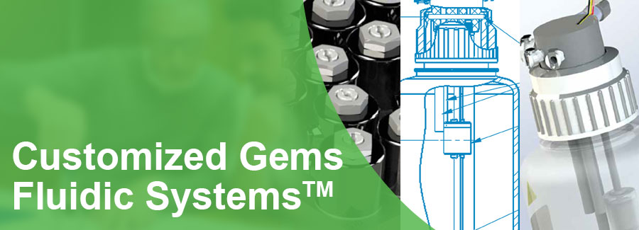 Gems Sensors Customized Fluidic Systems