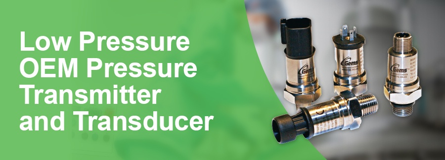 Low Pressure OEM Pressure Transmitter and Transducer