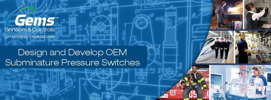 Design and Develop OEM Subminature Pressure Switches